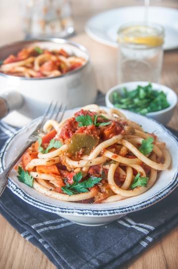 Roasted Vegetable Bucatini4