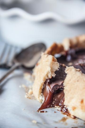 Salted Caramel Chocolate Tart.3
